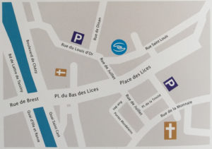 Plan Saint Louis Rennes