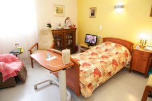 Chambres spacieuses et confortables